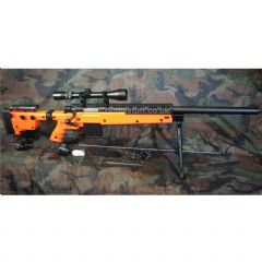 WELL MB4406 Airsoft Rifle with 3-9x40 Scope and Bipod 440FPS